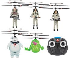 Ghostbusters Licensed 2CH IR RC Helicopter 5-Pack Bundle - $149.95