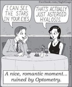 Starts in your eyes = asteroid hyalosis