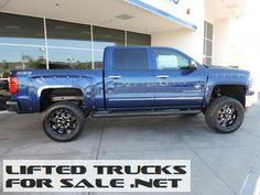 2014 Lifted Chevrolet Silverado 1500 LTZ Southern Comfort Black Widow