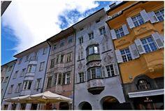 Via dei Portici (main shopping and dining area) - Bolzano, Italy South Tyrol, Tour Tickets, Trip Advisor, Skiing, Maine, Multi Story Building, Tours, Italy, Mountains