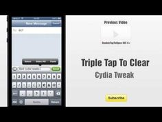 Triple Tap To Clear cydia tweak allows you to triple (3x) tap to clear text in the Messages app. http://www.bestcydiatweaks.com/triple-tap-to-clear.html