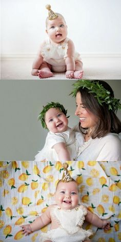 Tova Hannah's 6 Month Photoshoot | Get cute picture ideas for your little one's…