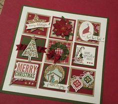 Christmas CARD CANDY FRAME