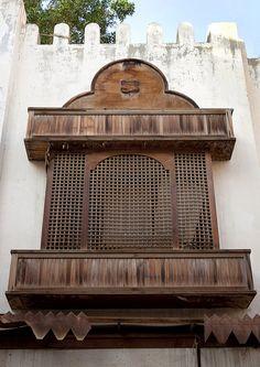 Old ottoman house Moucharabiah in Jeddah - Saudi Arabia by Eric Lafforgue,