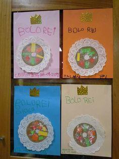 Bolo                                                                                                                                                                                 Mais Winter Christmas, Christmas Time, Xmas, Cute Crafts, Crafts For Kids, Kings Day, Craft Club, Kindergarten Teachers, Jingle Bells