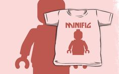"""Minifig by Customize My Minifig"" Kids Clothes by ChilleeW 
