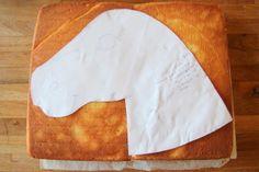 Full tutorial for how to make a unicorn birthday cake, great for kids parties. Unicorn Head Cake, How To Make A Unicorn Cake, Unicorn Cakes, Horse Birthday, Unicorn Birthday, Unicorn Party, Fourth Birthday, Birthday Ideas, Mini Cakes