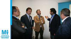 Los expertos en franquicias Julio Ortega, Iván Fontcuberta, Pablo Gutiérrez, Álvaro J. Samper, con Javier Hidalgo, Director Médico de Mi Medical