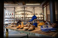 shoewalla in groningen & leeuwarden: deschoenenfabriek.nl