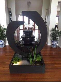 Our modern water features found a home in Adelaide, South Australia. Modern Water Feature, Garden Water, Water Features In The Garden, Finding A House, South Australia, Ponds, Snow Globes, Mirror, Home Decor