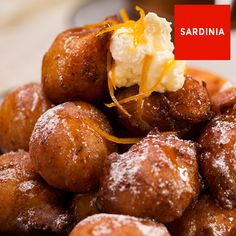 Ricotta fritters with orange and honey - ottolenghi