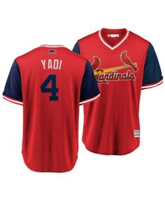 61ec35f0a Majestic Men s Jersey Yadier Molina St. Louis Cardinals Players Weekend  Replica Cool Base - Navy