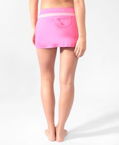 Contrast Waist Athletic Skort for $17.80 at Forever 21! Has a pocket in the back for your phone or tunes!