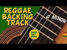 Play Along Slow Reggae Backing Track in Gm G Minor, Backing Tracks, Cool Guitar, Reggae, Cool Words, It Works, Play, Fun, Fin Fun