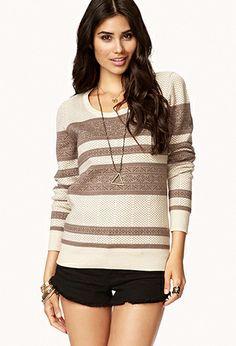 Fair Isle Sweater   FOREVER21 - 2002929245 $25