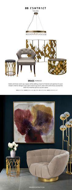 Inspirez-vous de ces Mood Boards BRABBU pour initier la tendance. | projets de décoration d'intérieure contemporains | tendance déco | inspirations et idées | Pour obtenir les images en Haute Résolution et le communiqué de presse, cliquez ici: http://www.brabbu.com/pressarea/