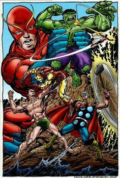The Avengers by John Byrne