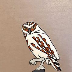 "Owl by Dylan Metrano Papercutting Woodblock Original Art 8""x8"" Paula Estey Gallery http://www.amazon.com/dp/B0189P07L4/ref=cm_sw_r_pi_dp_lU-Jwb0MFKGEY"