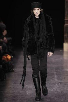 Ann Demeulemeester Autumn/Winter 2009 Menswear Collection   British Vogue