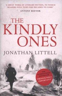 """The Kindly Ones by Jonathan Littell. Stephen says """"An epic in every sense of the word, this 983 page novel follows the life of one German Secret Service officer as he navigates his way through World War II. Awarded the prestigious Prix Goncourt on release, this is a long, exhilarating, and very rewarding read."""""""