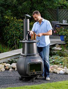 Ben je op zoek naar een multifunctionele tuinhaard waarmee je zelfs kunt barbecueën en roken? Dan is de Fire-Up Troll 700 waarschijnlijk een schot in de roos!