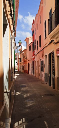 ciutadella de menorca. balearic islands. spain.