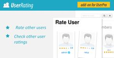 User Rating Review Add on for UserPro v3.5