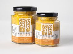 Packaging Design for Woods Edge Farm by Skillet Design and Marketing.
