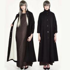 Samuji Black Full Tiana Coat