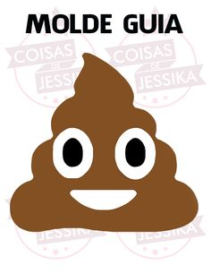 Coisas de Jessika: Almofada Cocôzinho Feliz :D