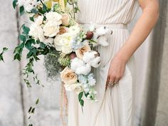Brides: Winter Wedding Flowers: Bouquets Perfect for a Wintry Wedding