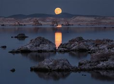 Photographer Mizzy Pacheco has an incredible eye for dramatic landscapes that are rich in saturated color and detail. Based in California, Pacheco particularly spends his time tracking the patterns of the sun and the moon so that he can photograph them in all of their splendor.