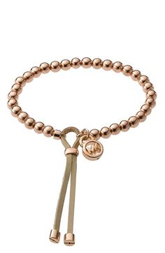 Michael Kors Beaded Stretch Bracelet
