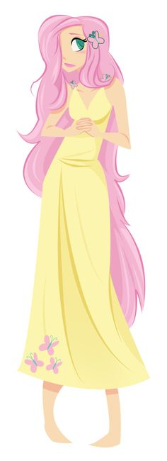 Human Fluttershy by RaineKitty.deviantart.com on @deviantART