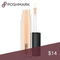 """MAC COSMETICS LIPGLASS """"C-THRU"""" NEW New in box full size LIPGLASS this holy Grail product is beautiful worn alone or paired with a lipstick a must have!! MAC Cosmetics Makeup Lip Balm & Gloss"""