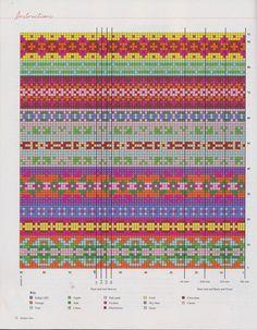 Debbie Bliss - Fall/Winter 2010 - Laura C - Picasa Web Album Fair Isle Knitting Patterns, Fair Isle Pattern, Knitting Charts, Loom Patterns, Knitting Designs, Knitting Stitches, Knitting Projects, Stitch Patterns, Fair Isle Chart