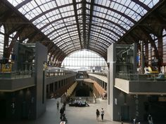 Amberes-Antwerpen: estación central de Amberes (Antwerpen-Centraal)