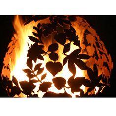 Handmade Leaf Fire Ball | Sphere Fire Pit | Fireball – Coast & Country Store