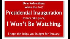 "*** Events are on both the 19th (""Concert"") & 20th (Inaugural events) ..."