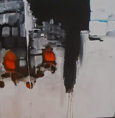 """Robert Del Naja piece painted in 2006 called """"Beirut"""", which would end up on UNKLE's War Stories artwork the year later. Massive Attack, Contemporary Paintings, Cool Art, Graffiti, 3d, Canvas, Drawings, Creative, Artwork"""