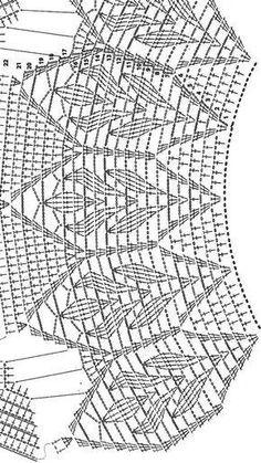 Crochet Collar Crochet Poncho Poncho Shawl Crochet Blouse Crochet Top Crochet Stitches Patterns Embroidery Patterns Stitch Patterns Cosas A Crochet Cardigan Au Crochet, Gilet Crochet, Black Crochet Dress, Crochet Motifs, Crochet Collar, Crochet Diagram, Crochet Shawl, Crochet Lace, Crochet Stitches