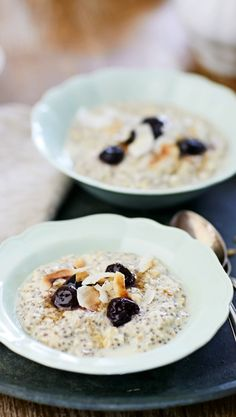 Discover recipes, home ideas, style inspiration and other ideas to try. Oats Recipes, Cooking Recipes, Healthy Snacks, Healthy Recipes, Gluten Free Breakfasts, Overnight Oats, Love Food, Breakfast Recipes