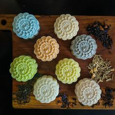 Gelato Mooncakes of Butterknife Folk     #sgfood #sgcafes #butterknifefolk #mooncakes #ordinarypatrons