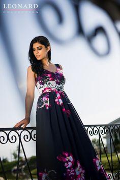 Rochie lungă de zi cu imprimeu floral deosebit Campaign, Formal Dresses, Floral, Summer, Collection, Fashion, Dresses For Formal, Moda, Summer Time
