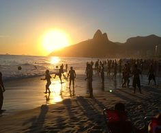 altinho, por do sol, nas areias, praia