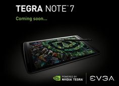 Forget about your fingers! EVGA Nvidia Tegra Note 7 unveiled | UnlockUnit Blog
