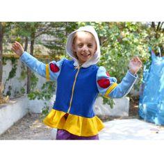 lamajama-hoodie-apple-princess-hionati7 Pjs, Apple, Costumes, Hoodies, Princess, Carnival, Apple Fruit, Sweatshirts, Dress Up Clothes