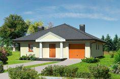 """""""Ciepłe wspomnienia"""" Murator M30 - za budową prostego domu przemawiają nie tylko względy estetyczne i praktyczne, ale i finansowe. Dom wygląda skromnie i przytulnie, nie zaskoczy nas trudnościami podczas budowy, pozwoli dobrze oszacować koszty i będzie tani w utrzymaniu."""