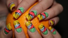 colorful nails designs - Cute Nail Designs