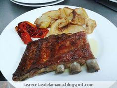 Las recetas de la Mamá: Receta de Costillas de cerdo al horno